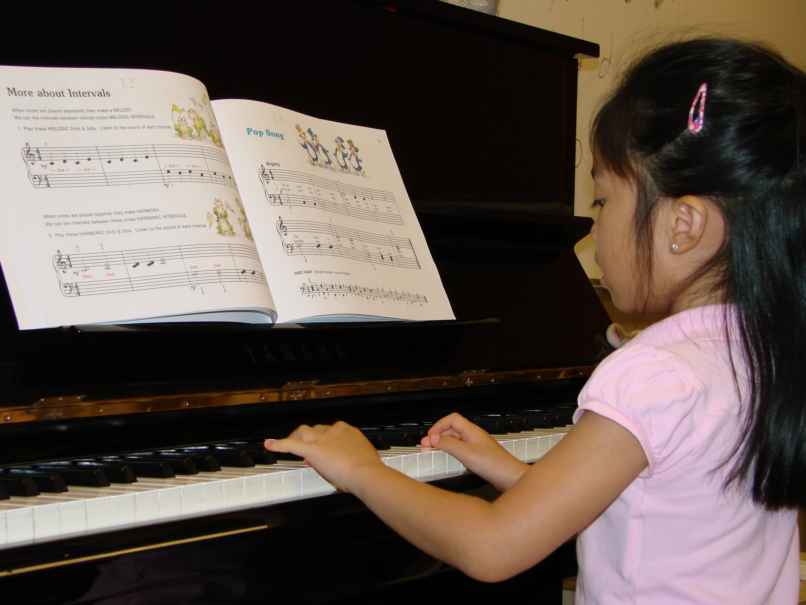 Piano lessons printable free