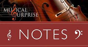 Musical Surprise Notes - Newsletter