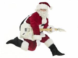 Holiday Hoopla- Guitar Santa