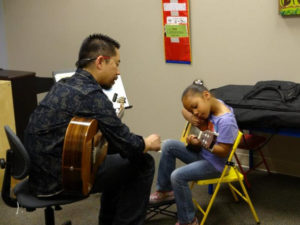 Guitar Lessons at Musical Surprise