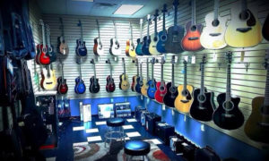 Guitar Room at Musical Surprise
